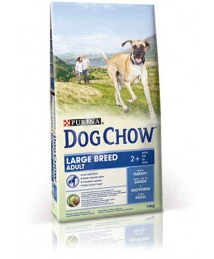 DOG CHOW ADULT LARGE BREED Индейка