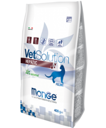 Monge VetSolution Cat Hepatic диета для кошек Гепатик