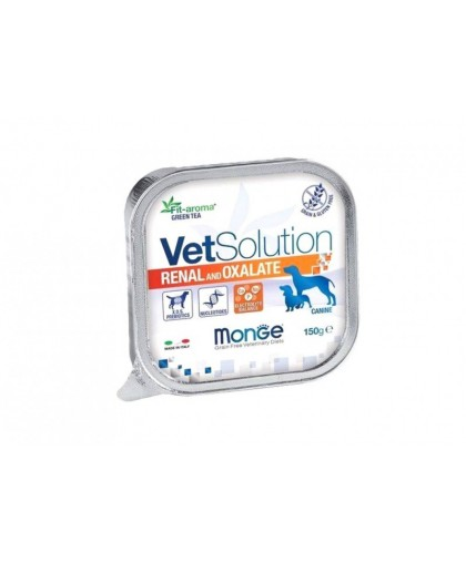 Monge VetSolution Dog Renal and Oxalate влажная диета для собак Ренал и Оксалат 150 г